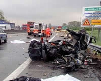 incidente A1 caianello